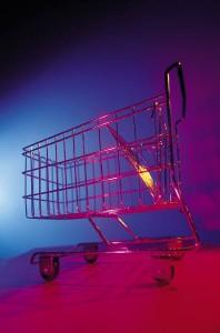 One of Many Abandoned Shopping Carts