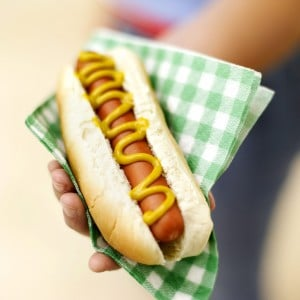 Targeted landing pages sell hotdogs